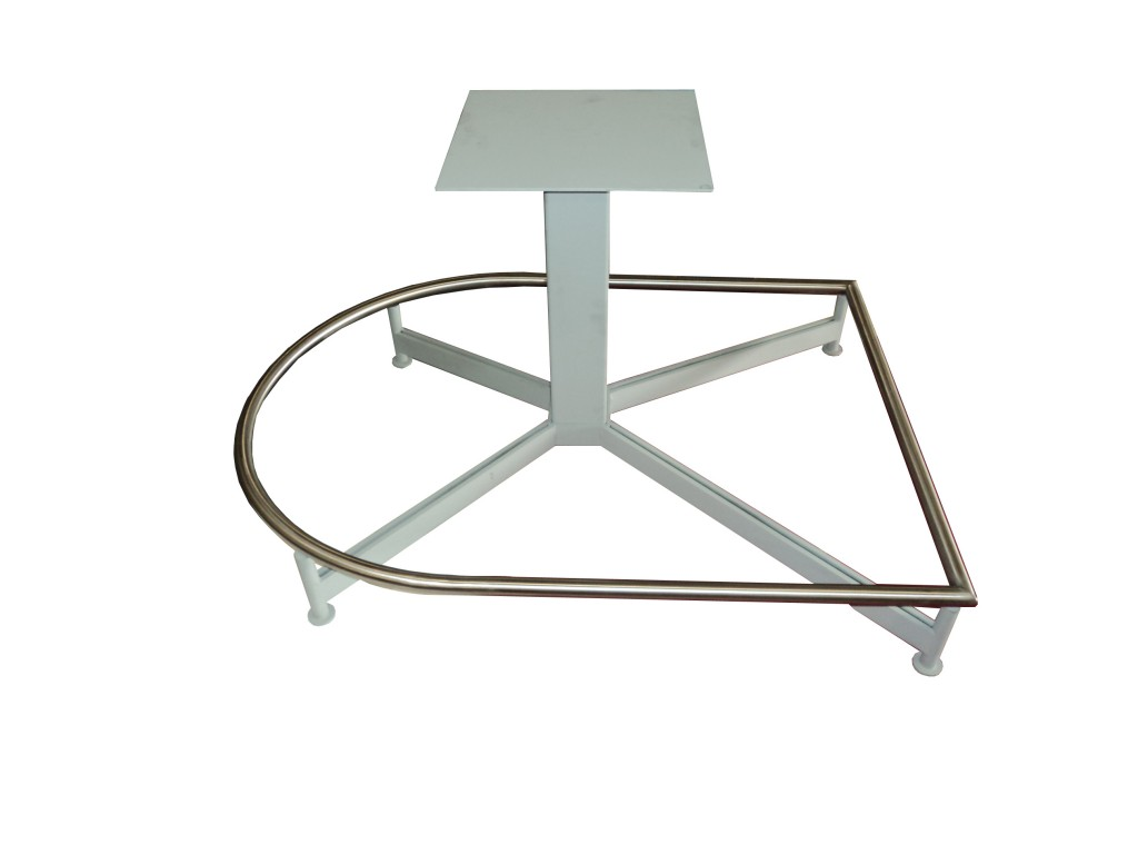Custom Table Bases Northwest Metal Products - D shaped conference table