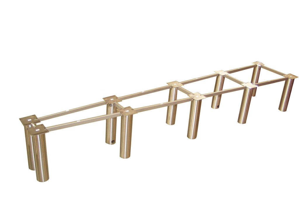 Custom Table Bases Northwest Metal Products - Conference table bases metal